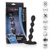 CalExotics Eclipse Slender Beads анальные бусы с вибрацией, 16х2,5 см (11393-17)