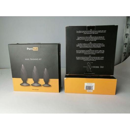 Набор анальных пробок Pornhub Anal Training Kit (незначительные дефекты упаковки) (29458-29)