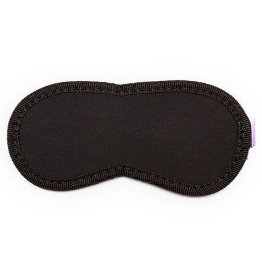 Пикантные Штучки мягкая маска на глаза Purple&Black (11980-17)