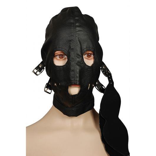Шлем со съемными кляпом и маской Пикантные Штучки (9524-17)