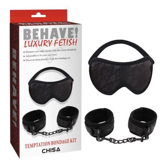 БДСМ набор - Temptation Bondage Kit (26526-37)