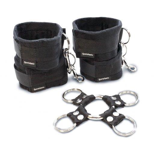 Набор для фиксации рук и ног Sportsheets Hog Tie & Cuff Set (14316-29)
