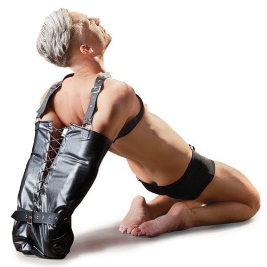 Фиксатор - 2492687 Imitation Leather Armbinder, black, S-L (25678-37)