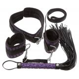 Набор бондажей - 2492318 Bondage Set purple/black (23399-37)