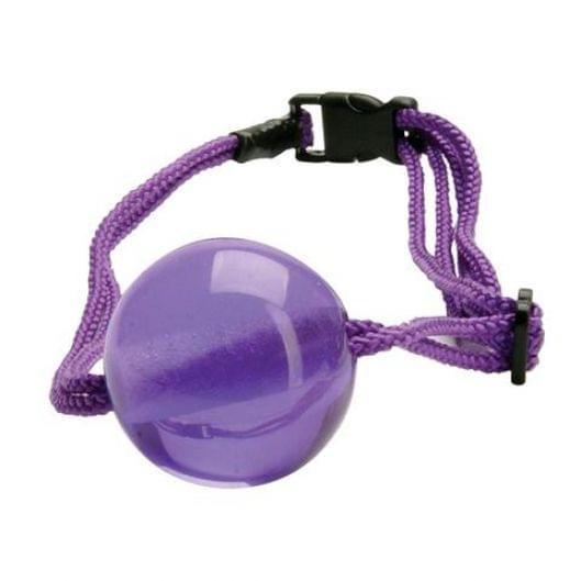 Кляп Japanese Silk Love Rope Ball Gag, Purple (11879-17)