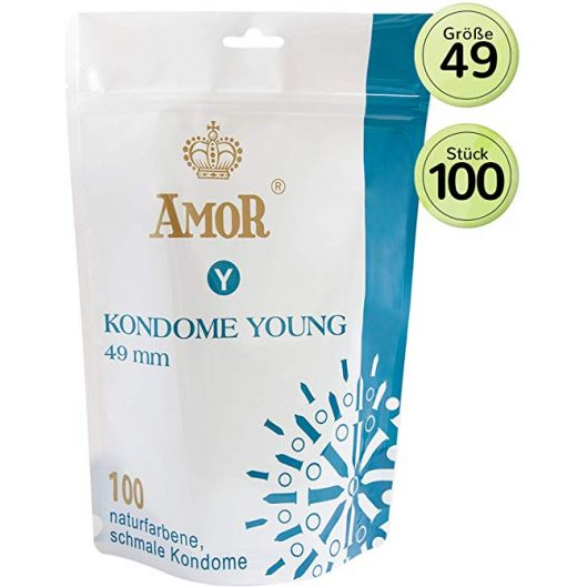 Презервативы - Amor Young, 100 шт. (27946-37)