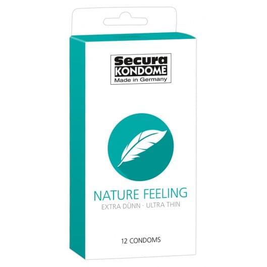 Презервативы - Secura Nature Feeling, 12 шт. (22726-37)