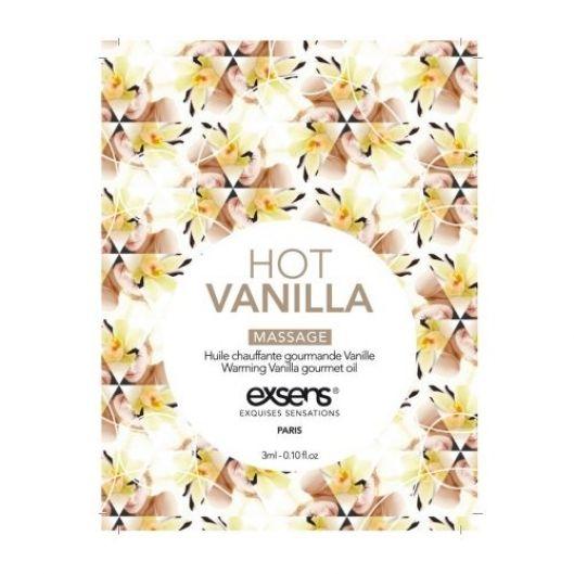 Пробник массажного масла EXSENS Hot Vanilla 3мл (15673-29)