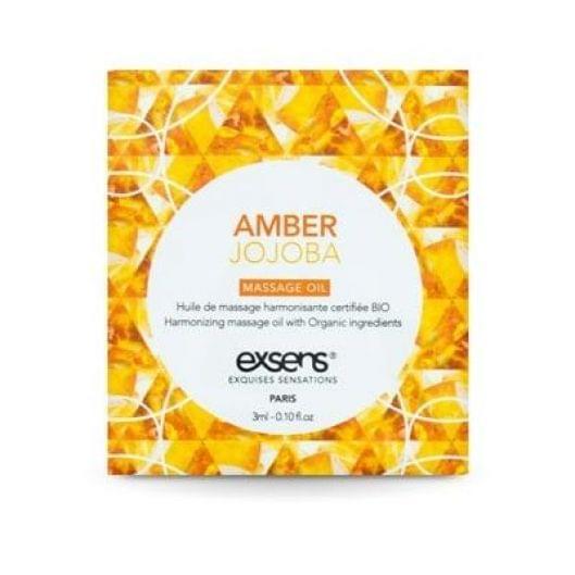 Пробник массажного масла EXSENS Amber Jojoba 3мл (15684-29)
