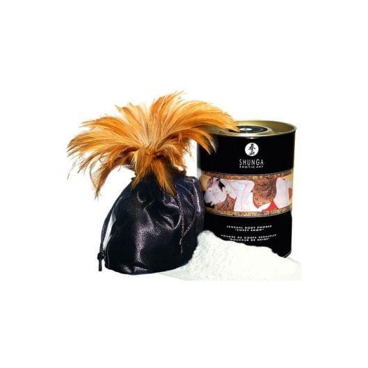 Съедобная пудра для тела Shunga Sweet Snow Body Powder - Honey of the Nymphs (228 грамм) (16364-29)
