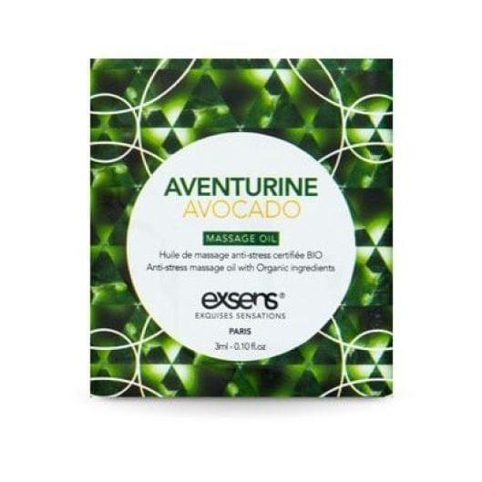 Пробник массажного масла EXSENS Anti-Stress Aventurine Avocado 3мл (15687-29)