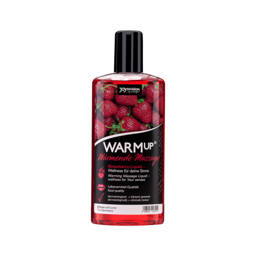 Массажное масло - WARMup Strawberry (клубника), 150 мл (19889-37)