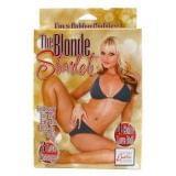 California Exotic Novelties The Blonde Starlet Love Doll кукла надувная (11470-17)