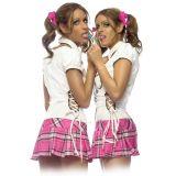 Куклы Близняшки - шаловливые студентки (3832-17)
