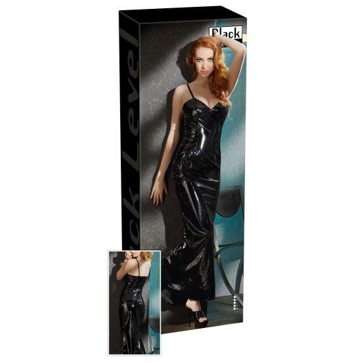 2850885 Vinyl Dress long (22890-37)