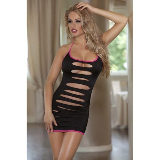 Эротичное платье с разрезами и трусики - Dolce Piccante (9545-17)