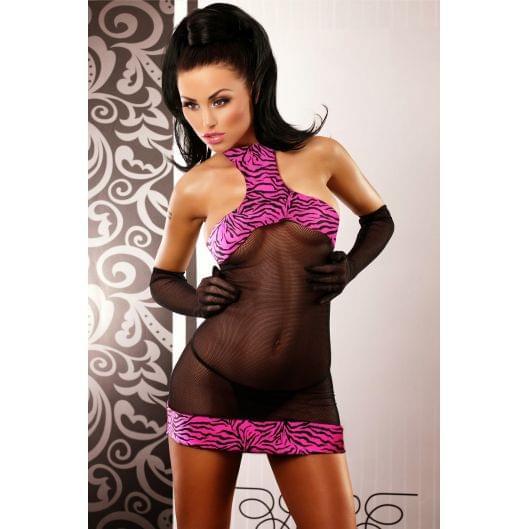 Эротическое мини платье Lolitta Satisfaction, L/XL (11297-17)