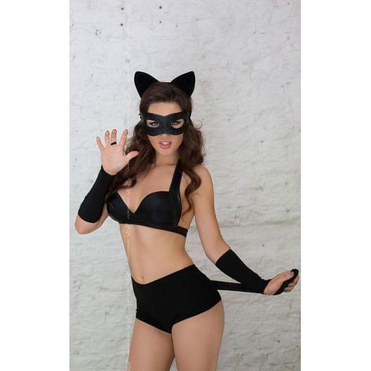Ролевой костюм - Catwoman, черный (17922-37)