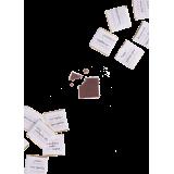 Шокопак - подарочный набор шоколада Люблю когда ты рядом, 12 плиток (16661-17)