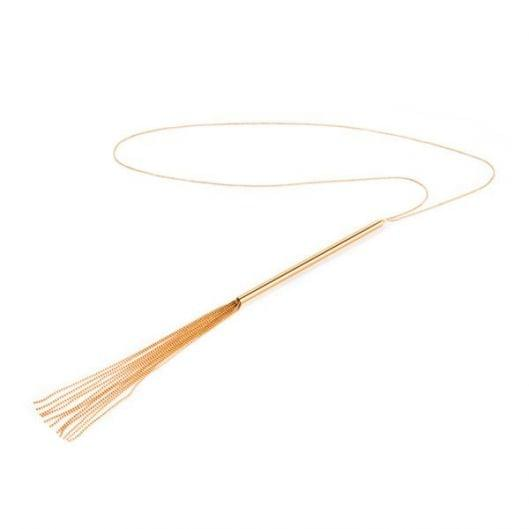 Украшение-плеть Bijoux Indiscrets MAGNIFIQUE Necklace Whip - Gold (16002-29)