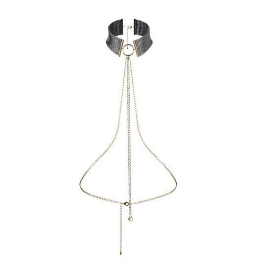 Украшение Bijoux Indiscrets Desir Metallique Collar - Black (16006-29)