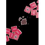 """Шокопак, подарочный набор шоколада """"Люблю тебя больше чем..."""" , 12 плиток (16659-17)"""