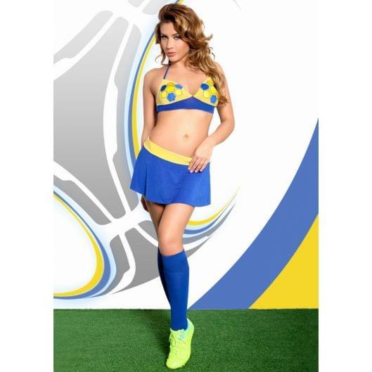 Ролевой костюм - Ola, желто-синий (20470-37)