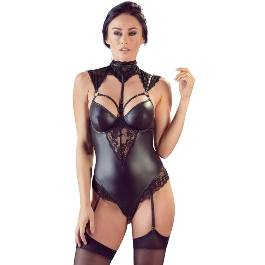 Боди - 2642034 Body with Lace Inserts (26000-37)