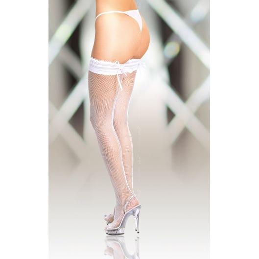 Чулки - Stockings 5539, white (17587-37)