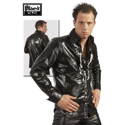 Мужское белье - Lack Herren Hemd, black / XXL (20607-37)