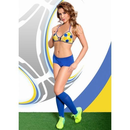 Ролевой костюм - Viktoria, желто-синий (20469-37)