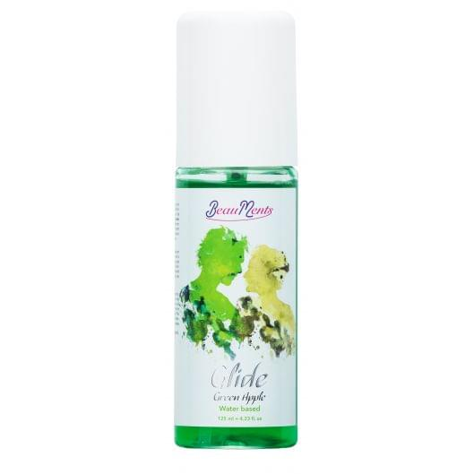 Лубрикант - BeauMents Glide Green Apple (water based), 125 мл (26351-37)
