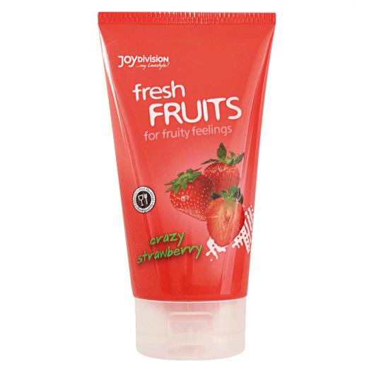 Лубрикант - freshFRUITS Crazy Strawberry, 150 мл (19859-37)