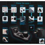Секс мебель - Dark Magic Thrusting Bed (25351-37)