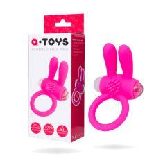 Эрекционное кольцо на пенис Toyfa A-Toys, силикон, розовый, Ø2,5 см