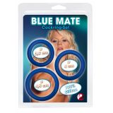 Эрекционные кольца - Blue Mate Cockring Set 3er (18970-37)