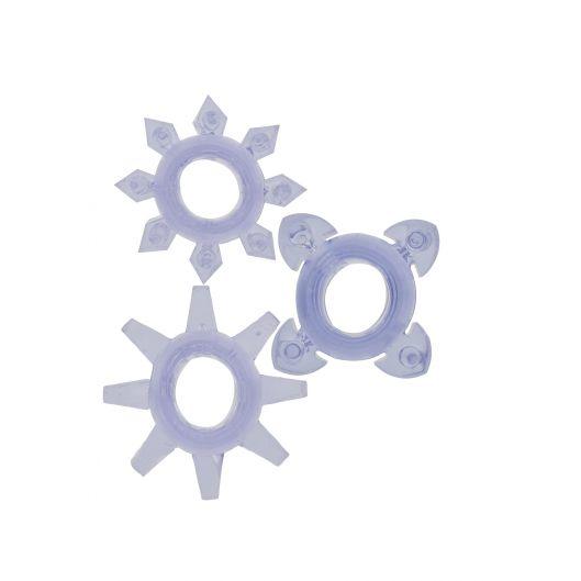 Эрекционные кольца Tickle C-rings Purple (1741-17)