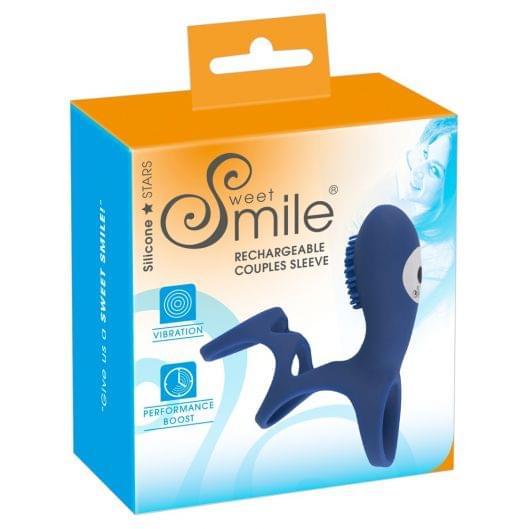 Насадка на член - Sweet Smile Rechargeable Coupl (26582-37)