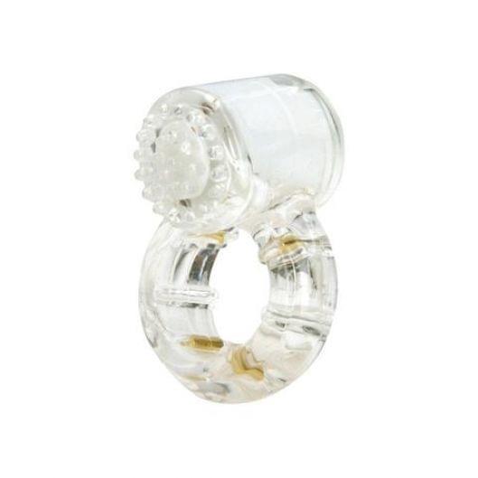 Эрекционное кольцо с вибрацией Climax® Gems™ Quartz Ring (10765-17)