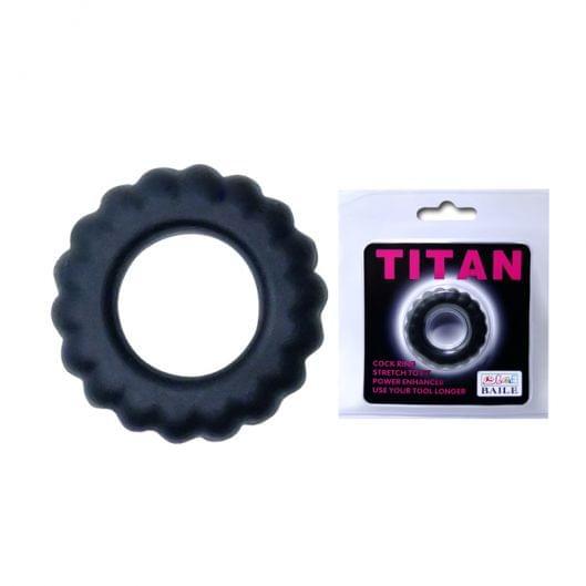 Эрекционное кольцо - TITAN cock ring pink (29897-37)