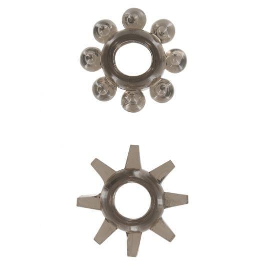 Эрекционные кольца Power Stretchy, 2 шт (2207-17)