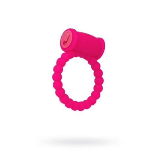 Эрекционное кольцо на пенис Toyfa A-Toys, силикон, розовый, Ø3,5 см (21898-37)