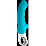 Крупный вибратор TIGER G5 от Fun Factory, бирюзовый (12740-33)