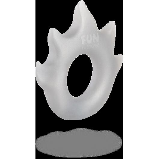 Эрекционное кольцо FLAME от Fun Factory, серебряный (12702-33)