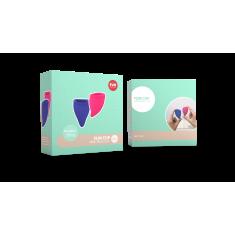 Набор менструальных чаш Fun Cup размер А и B от Fun Factory