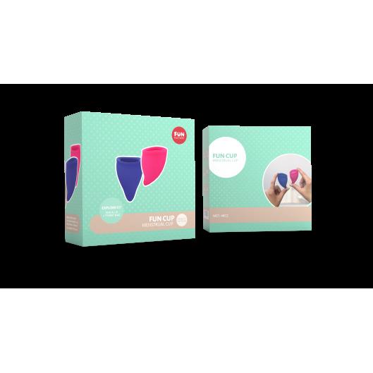Набор менструальных чаш Fun Cup размер А и B от Fun Factory (12796-33)