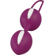 Вагинальные шарики SMARTBALLS DUO от Fun Factory, бело-виноградный (12698-33)