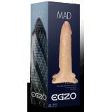 Egzo FH07 полый страпон, 18х4,2 см (11799-17)