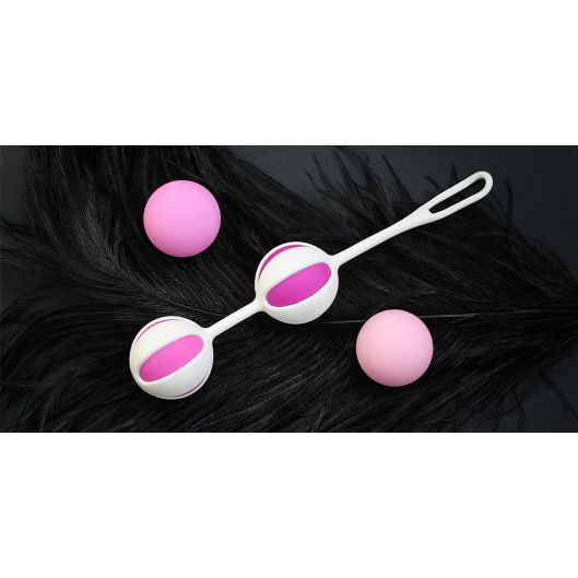 Кульки для тренування інтимних м'язів Geisha Balls 2 - Gvibe (8834-17)