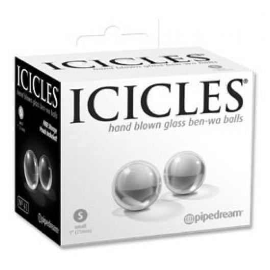 Вагинальные шарики - Icicles No.41 Small Glass Ben-Wa Balls (21327-37)